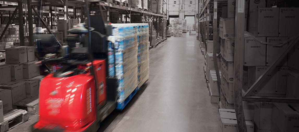 Automated Forklift, AGV, Automation