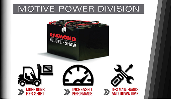Heubel Shaw News Center | Raymond Forklifts | Forklift