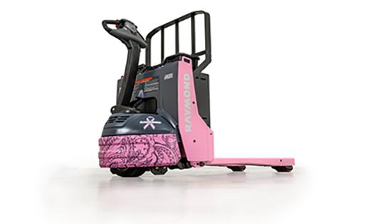 heubel shaw cares, pink pallet