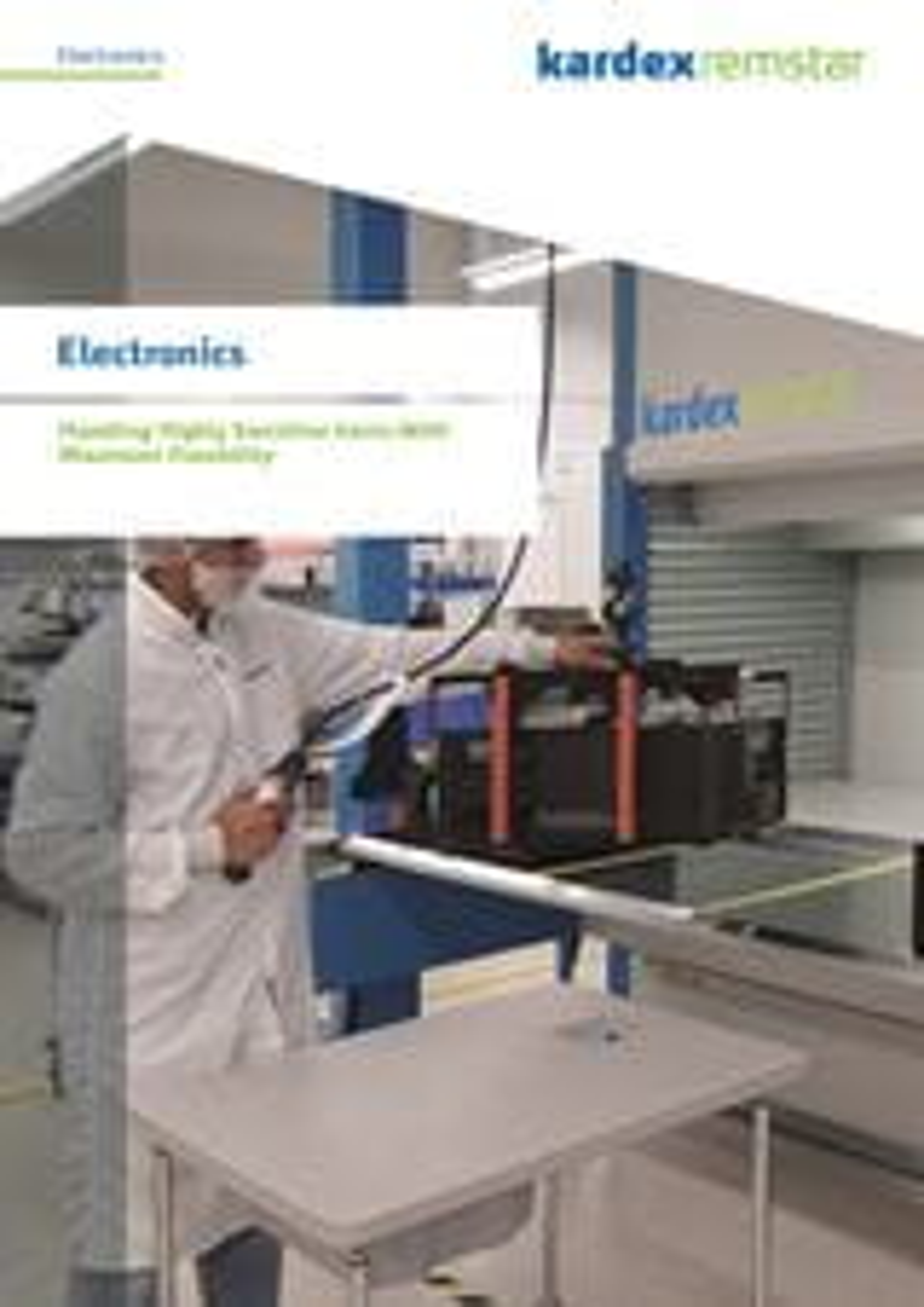 Electronics Brochure Kardex Remstar