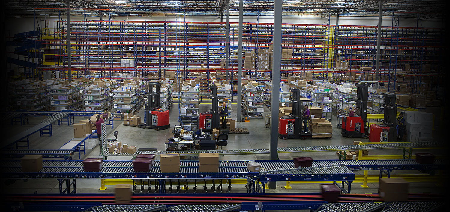 """pallet racking, warehouse racking, warehouse equipment, industrial warehouse equipment, heubel shaw warehouse equipment"""" (Default Alternate Text: """"Warehouse Products and Material Handling Supplies"""