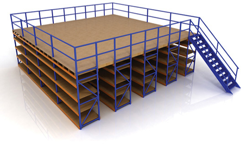 storage solutions, mezzanines, warehouse storage