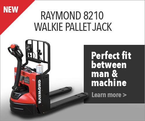 Raymond 8210 Walkie Pallet Jack, lift truck, forklift, raymond lift truck