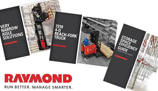 Raymond lift trucks, literature