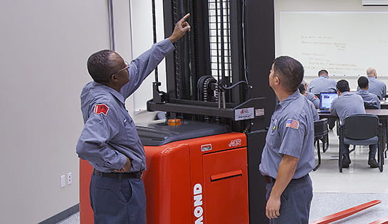technician training, forklift training