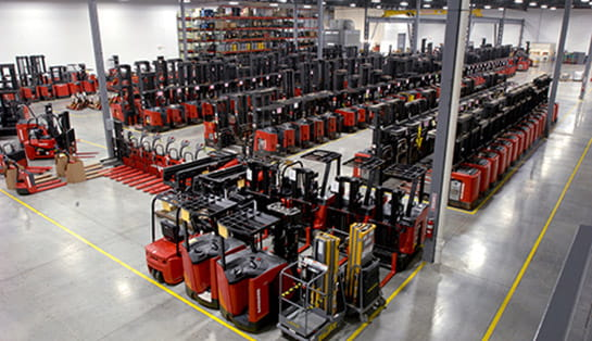 fleet management, raymond forklifts