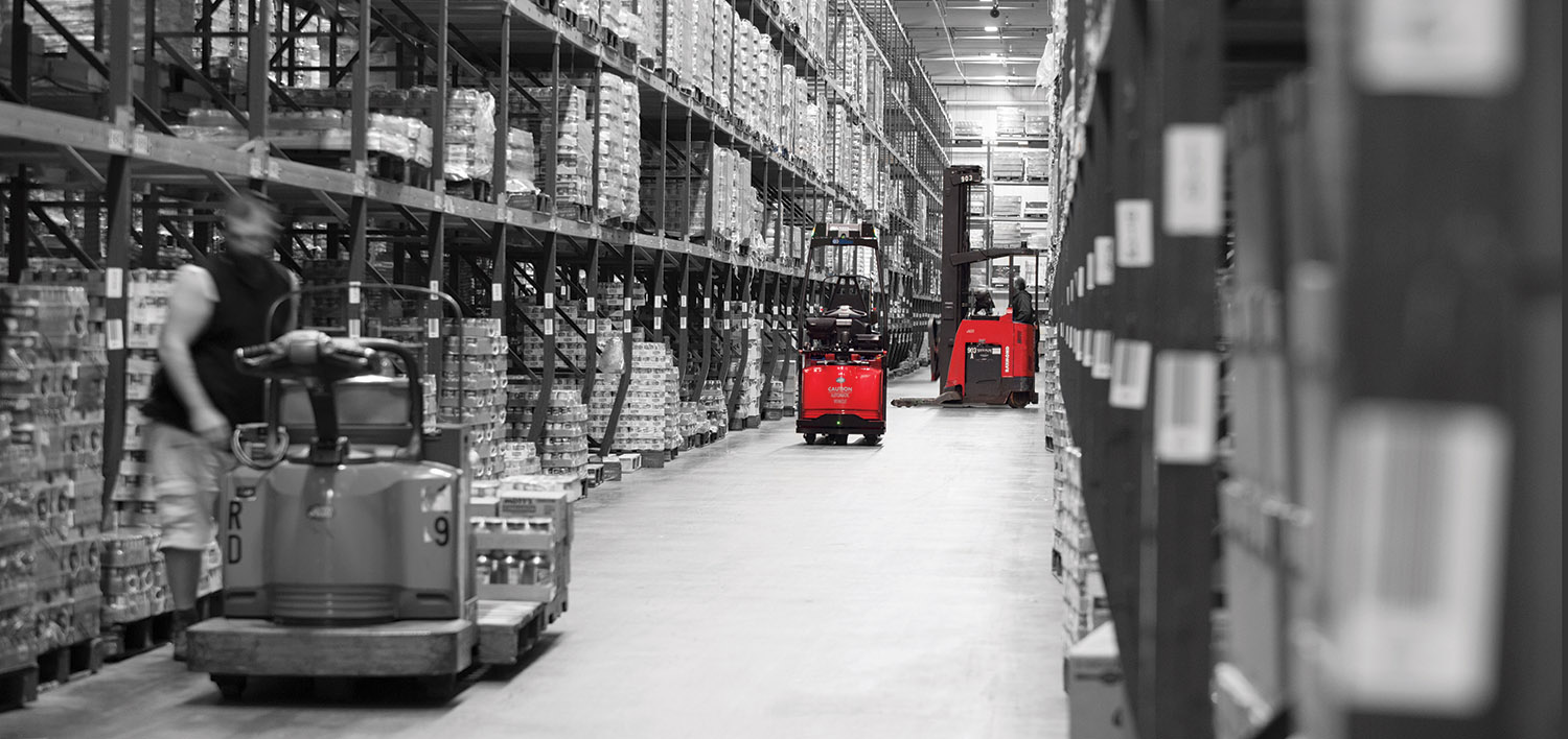 Automated Forklift, Automated Pallet Jack, Raymond automated pallet jack