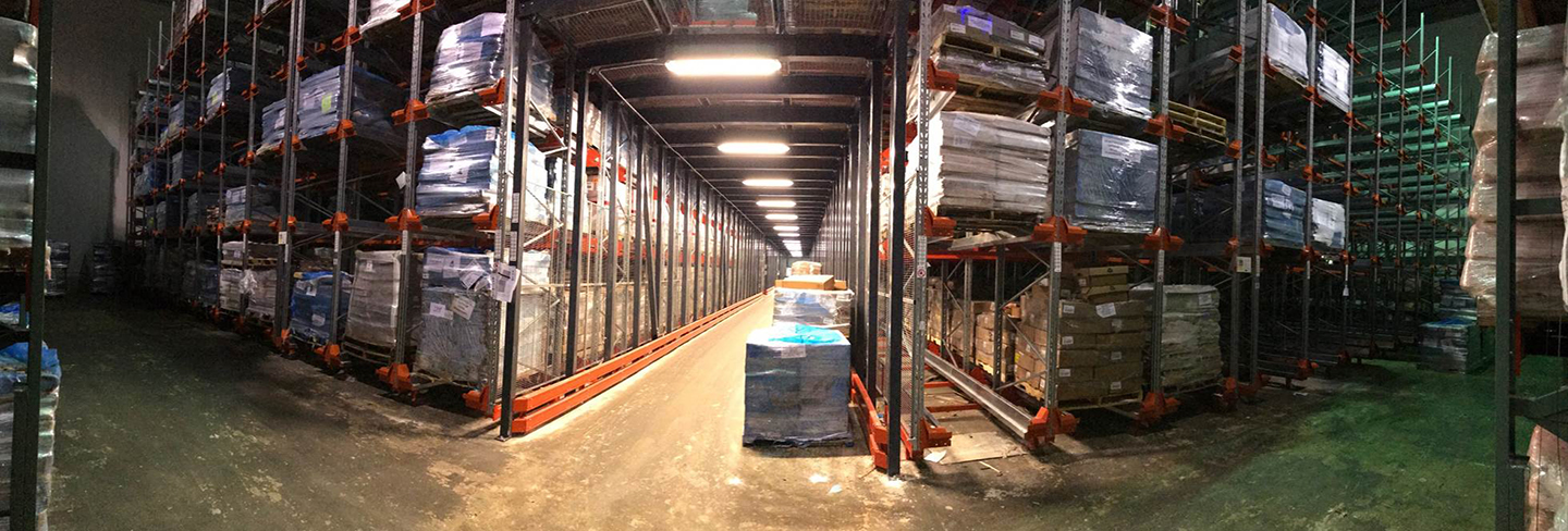 rack repair, pallet racking, heubel shaw pallet rack, damotech