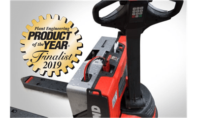lithium ion, pallet jack, pallet truck, integrated technology, lithium-ion pallet, lithium ion forklift, raymond 8250, product of the year finalist, raymond forklift