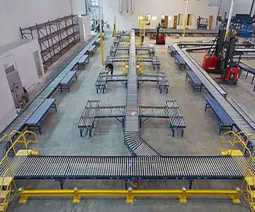 warehouse conveyor, heubel shaw conveyor, warehouse design