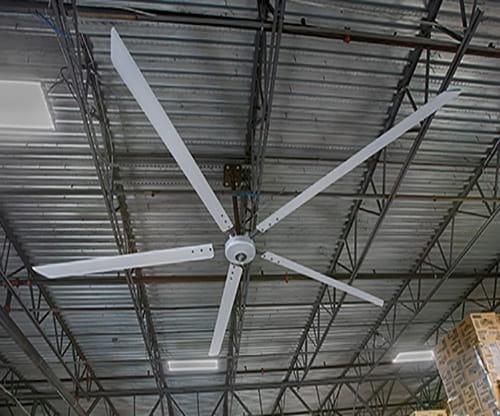 industrial fans, heubel shaw fans, warehouse fans