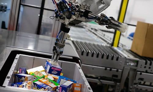robotics, industrial robot, end-of-arm tooling, bin picking