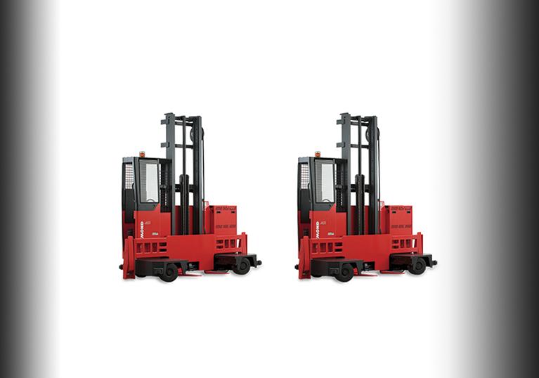 Raymond Sideloader Trucks