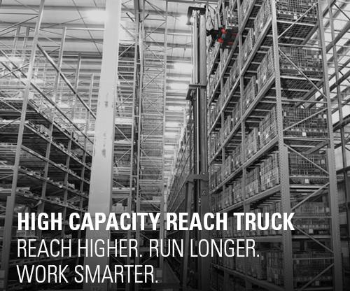 high capacity reach truck, reach truck