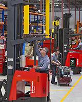 Raymond RENEWED Used Forklift Trucks
