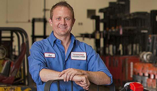 Raymond Forklift Maintenance Technician, Associated