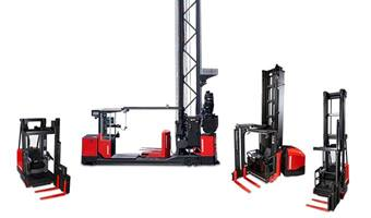 Turret Trucks, turret forklift, high lift forklift