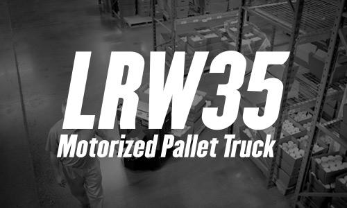 lrw35, walkie pallet truck