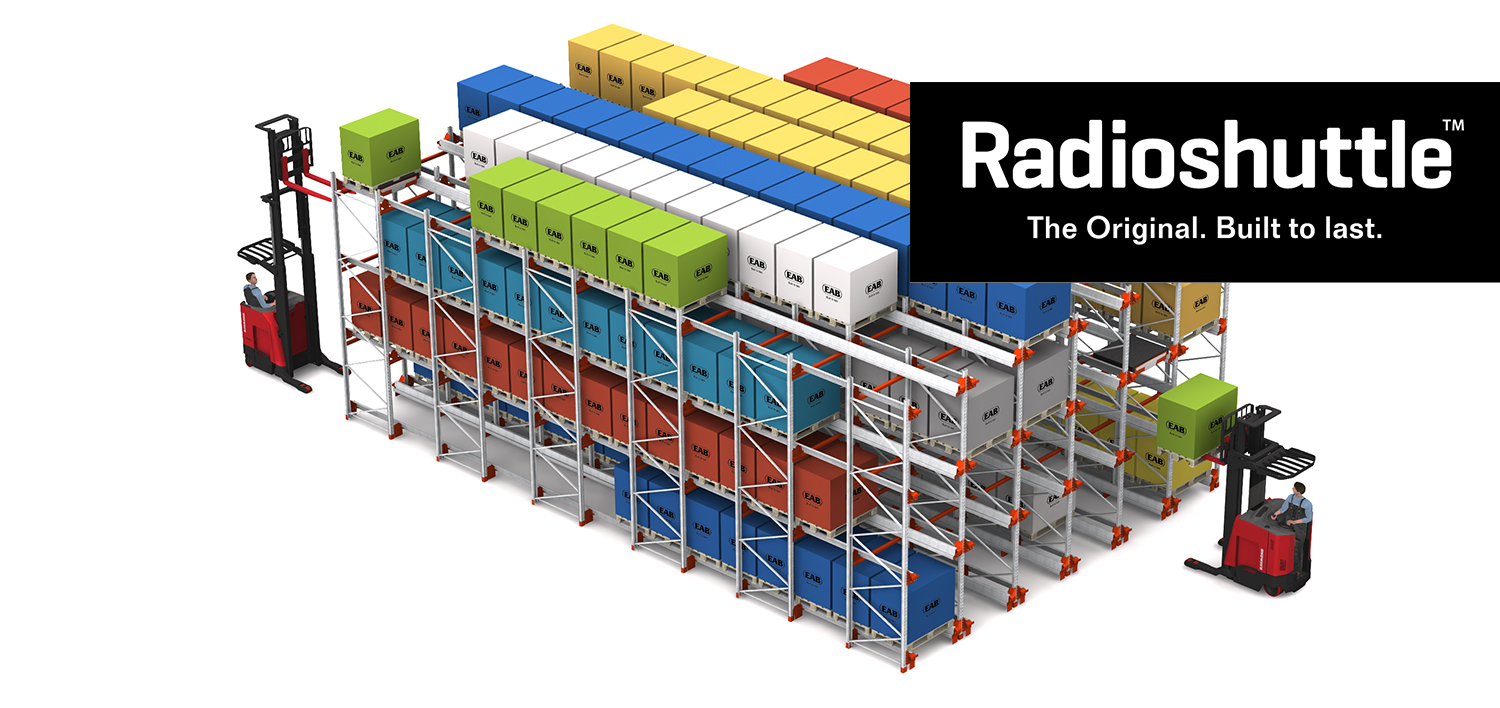 Radioshuttle racking system
